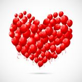 Heart shape Balloon Royalty Free Stock Image