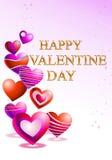 Heart shape balloon for valentine's day Stock Photos