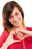 Heart shape Stock Image