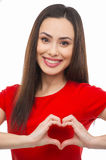 Heart shape. Royalty Free Stock Photos