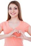Heart shape. Stock Photo