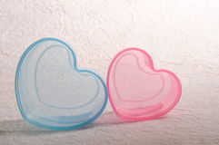 Heart shape bowl Royalty Free Stock Images