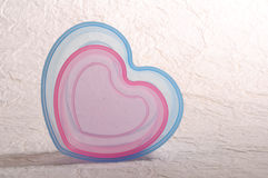 Heart shape bowl Royalty Free Stock Photography