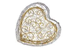 Heart Shape Box Royalty Free Stock Images