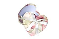 Heart-shape box Royalty Free Stock Photos