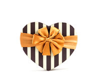 Heart shape box for valentine day Stock Image