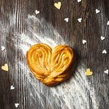 Heart shape bun Stock Photo