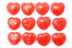 Heart shape candy Stock Images