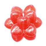 Heart shape candy Royalty Free Stock Image