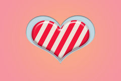 Heart shape candy Stock Image