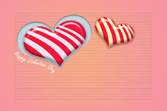 Heart shape candy Royalty Free Stock Images