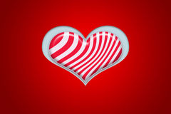 Heart shape candy Stock Photos