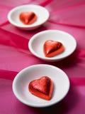 heart shape chocolate Royalty Free Stock Photos