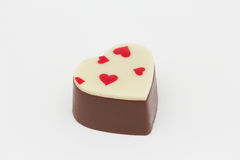 Heart shape chocolate Royalty Free Stock Photography