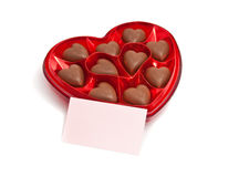Heart shape chocolate Royalty Free Stock Photo