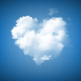Heart Shape Cloudscape Royalty Free Stock Images