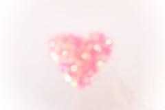 Heart shape on colour background,vintage style Stock Photos