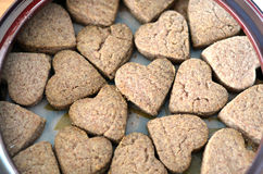 Heart Shape Cookies. For Valentine Day Stock Photos