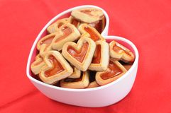 Heart shape cookies Stock Photo