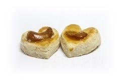 Heart shape cookies. Stock Photos