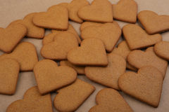 Heart shape cookies. Royalty Free Stock Image