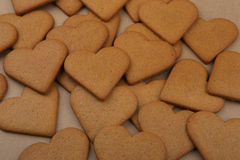 Heart shape cookies. Stock Images