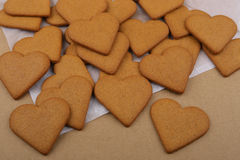 Heart shape cookies. Stock Photography