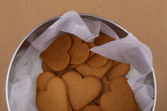 Heart shape cookies. Stock Photos