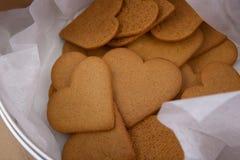 Heart shape cookies. Stock Image