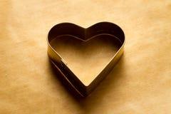 Heart shape cookies cutter Stock Photography