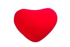 Heart shape cushion Royalty Free Stock Image