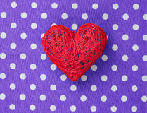 Heart shape decorate toy Stock Photo
