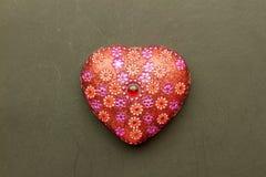 Heart shape decoration Stock Image