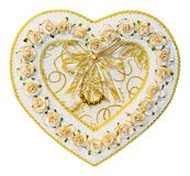 Heart shape decoration from paper Stock Photos
