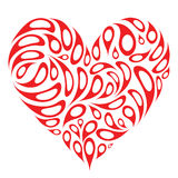 Heart shape design Stock Photography