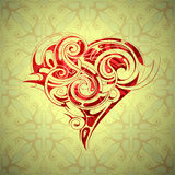 Heart shape design Royalty Free Stock Images