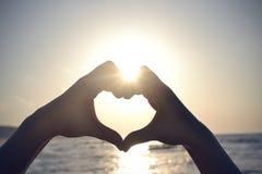 Heart shape Stock Photography