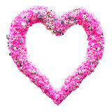 Heart shape of flower Stock Photography
