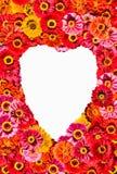 Heart shape frame Stock Image