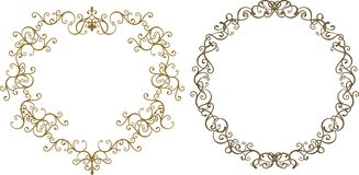 Heart Shape Frame Royalty Free Stock Photo