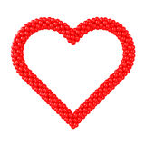 Heart Shape - Frame Balloons Royalty Free Stock Photography