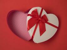 Heart shape gift box Royalty Free Stock Photo