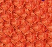 Heart shape grunge background Stock Photo
