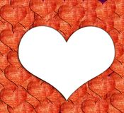 Heart shape grunge background Royalty Free Stock Photography