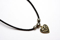 Heart Shape Locket Stock Photo