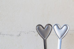 Heart shape metal Royalty Free Stock Image