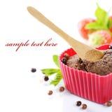 Heart Shape Muffin Stock Photo