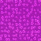 Heart shape neon background. Texture Royalty Free Stock Image