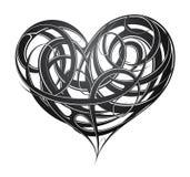 Heart shape original decoration Stock Photos