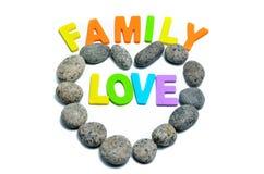 Heart shape pebble stone Royalty Free Stock Photography